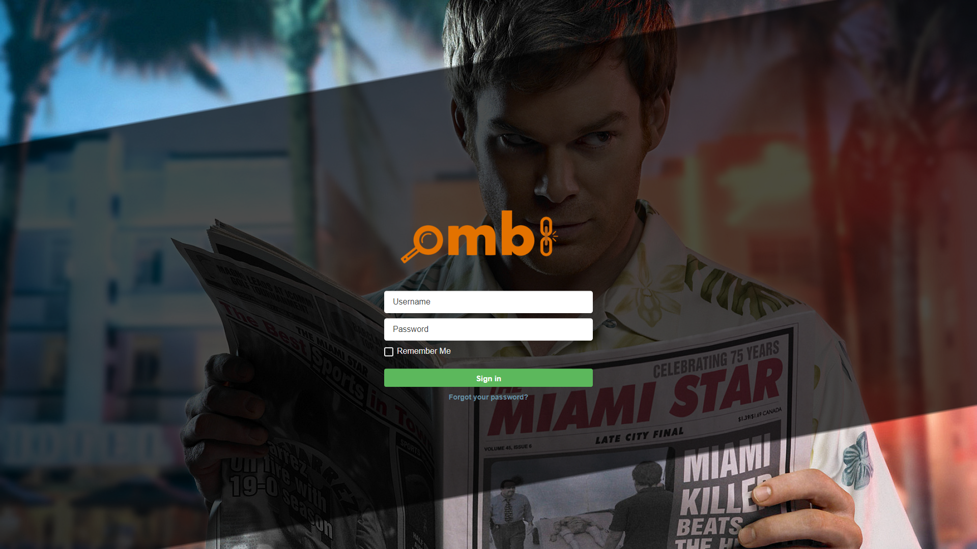 Ombi Screenshot 1